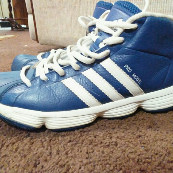 a01077bbb5f1 Adidas Other - Adidas Pro Model Mid Cut Court Shoe  Gum Sole